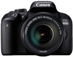 Зеркальный фотоаппарат Canon EOS 800D kit (18-135mm) IS STM