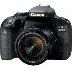 Зеркальный фотоаппарат Canon EOS 800D Kit (18-55mm) IS STM