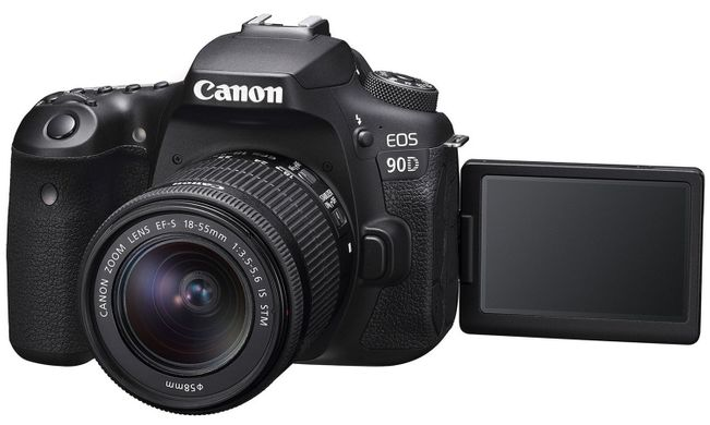 Зеркальный фотоаппарат Canon EOS 90D kit 18-55mm IS STM